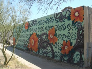 Whistle Stop Depot Mural