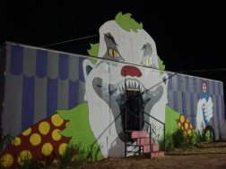 "Scenic Design and Painting for Buckelew Farm's ""Terror in the Corn"""