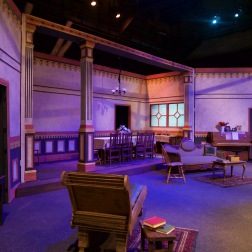 Scenic Design for Pima Community College's Production of Three Sisters
