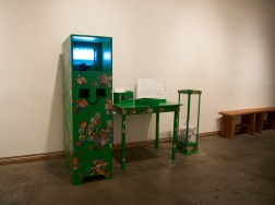 Of Rocks and Bullets Installation- Wide Angled